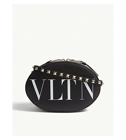 VALENTINO Logo cross-body (Black
