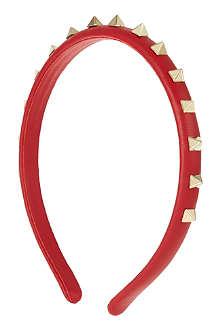 VALENTINO Studded hairband