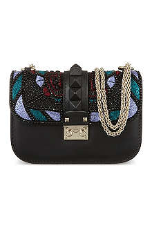 VALENTINO Small Embellished Jewel shoulder bag