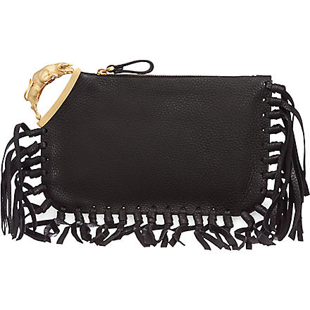 VALENTINO Taurus finger clutch (Black