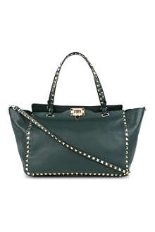 VALENTINO Studded medium tote