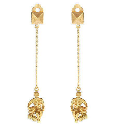 VALENTINO Aquarius earrings (Gold