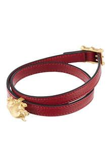 VALENTINO Taurus double wrap bracelet