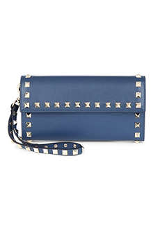 VALENTINO Studded wristlet wallet