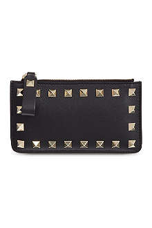 VALENTINO Zipped card holder
