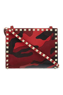 VALENTINO Camouflage cross-body pouch