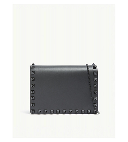 VALENTINO Rockstud cross-body bag (Black black