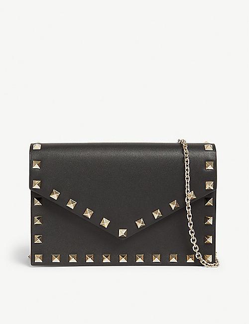 Valentino Bags - Rockstud, shoulder bags   more   Selfridges 5d97ad72e1
