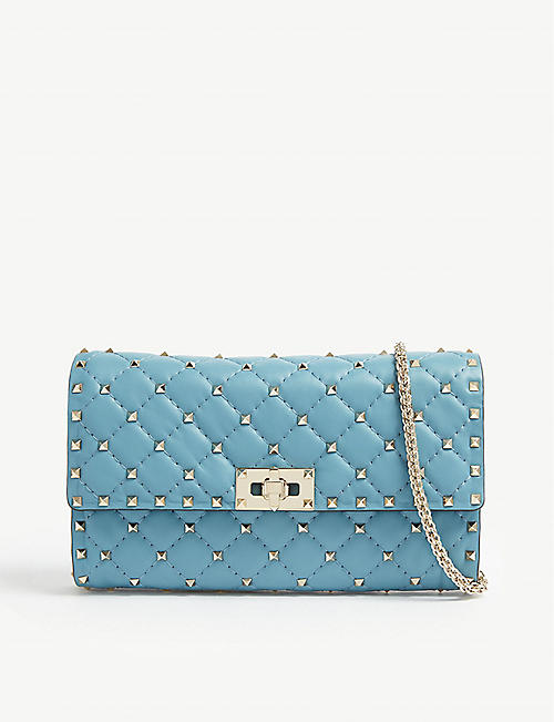 ec56d461fecc VALENTINO Rockstud quilted leather cross-body bag