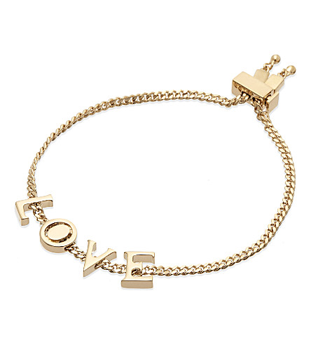 CHLOE LOVE bracelet (Gold