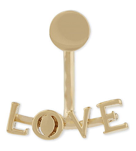 CHLOE Love earring (Gold