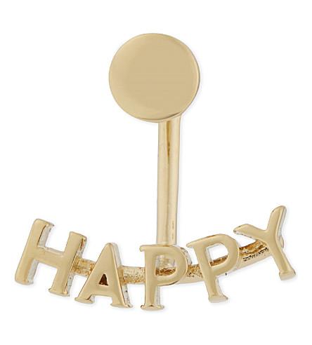 CHLOE Happy ear jacket (Gold