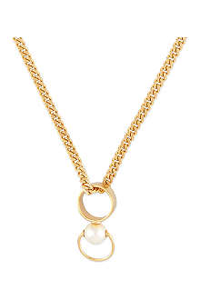 CHLOE Gold chain necklace