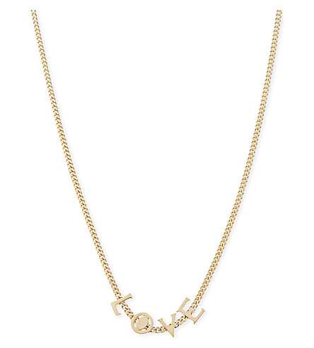 CHLOE Love necklace (Gold