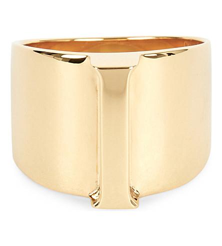 CHLOE Alphabet I ring (Gold