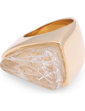CHLOE Bettina triangle ring