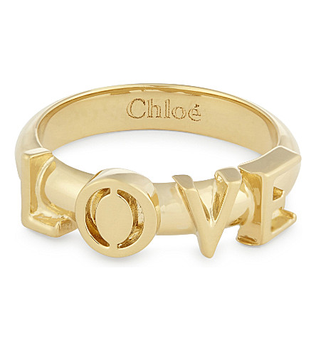 CHLOE Love ring (Gold