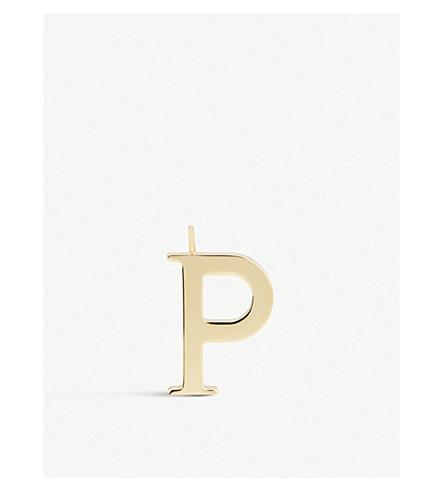 CHLOE Alphabet P pendant (Gold