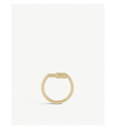 CHLOE Faye bag charm hook (Gold