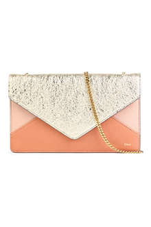 CHLOE Patchwork leather shoulder bag