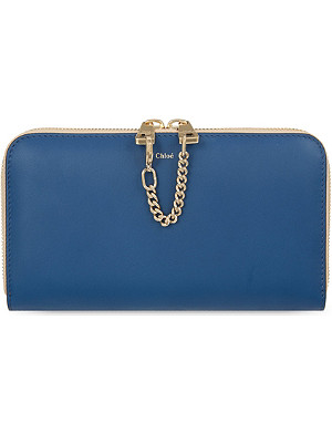 CHLOE Baylee long zip-around wallet
