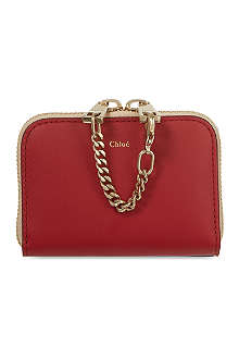 CHLOE Baylee mini zip wallet