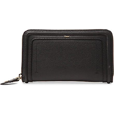 CHLOE Paraty zipped wallet (Black