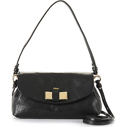 CHLOE Lily across-body bag (Black