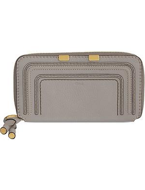 CHLOE Marcie long zip-around wallet