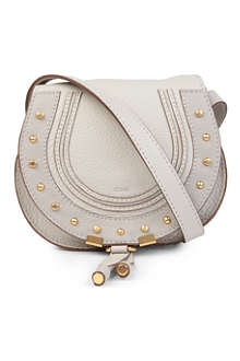 CHLOE Marcie small leather satchel