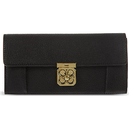 CHLOE Elsie continental purse (Black