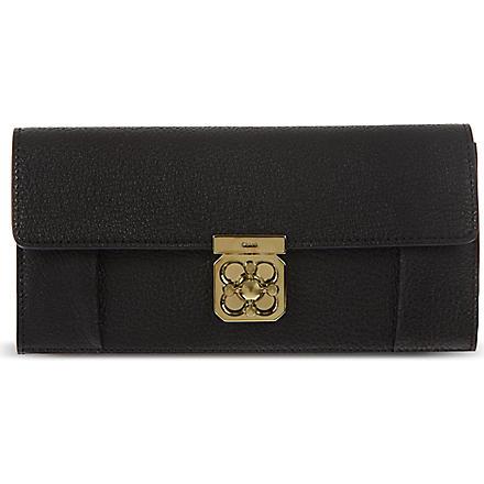 CHLOE Elsie continental purse (Black
