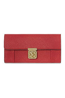CHLOE Elsie long flap wallet