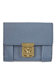 CHLOE Elsie square leather wallet