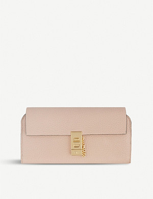 CHLOE Turnlock leather wallet