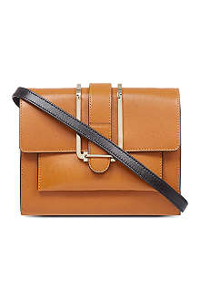 CHLOE Bronte box calfskin shoulder bag