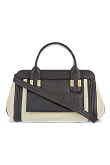 CHLOE Alice small shiny leather tote