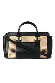 CHLOE Alice medium perforated leather tote bag
