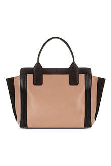 CHLOE Alyson small leather tote