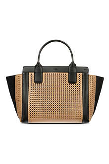 CHLOE Alison perforated tote