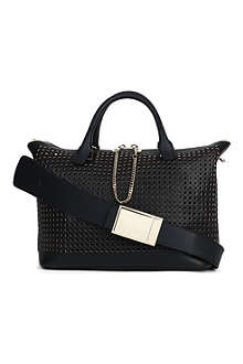 CHLOE Baylee perforated leather tote