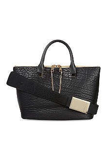 CHLOE Baylee grained leather tote