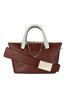 CHLOE Baylee small leather tote