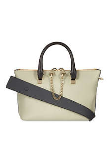 CHLOE Baylee smooth calfskin mini tote
