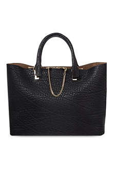 CHLOE Baylee grained calf leather tote