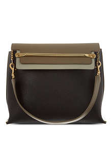 CHLOE Clare leather shoulder bag