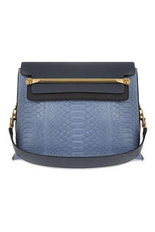 CHLOE Clare medium python shoulder bag