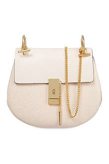CHLOE Drew medium grained leather shoulder bag