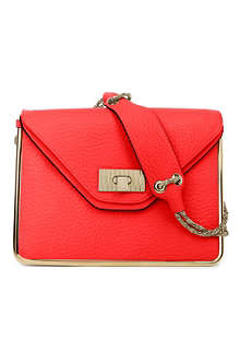 CHLOE Sally leather shoulder bag