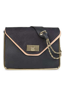 CHLOE Sally two-tone leather shoulder bag